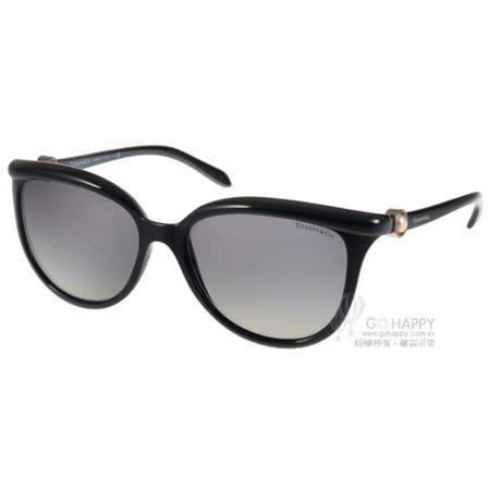 Tiffany&CO.太陽眼鏡 經典迷人貓眼款(黑) #TF4093H 80013C