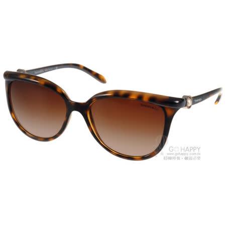 Tiffany&CO.太陽眼鏡 經典迷人貓眼款(琥珀) #TF4093H 80153B