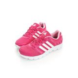Adidas(女)慢跑鞋 桃-AF5344