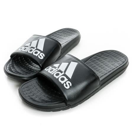 ADIDAS(男)休閒拖鞋 黑B36050