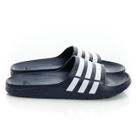 Adidas(男)運動拖鞋 藍-G15892