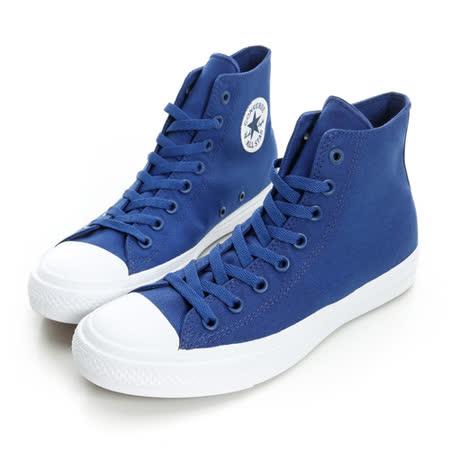 Converse男 帆布鞋(高統) 藍/白 150148C
