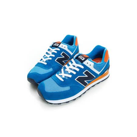 New Balance 紐巴倫 男 復古鞋 藍ML574CPS