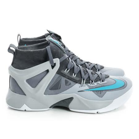 NIKE 男 籃球鞋 灰/藍/黑818678040