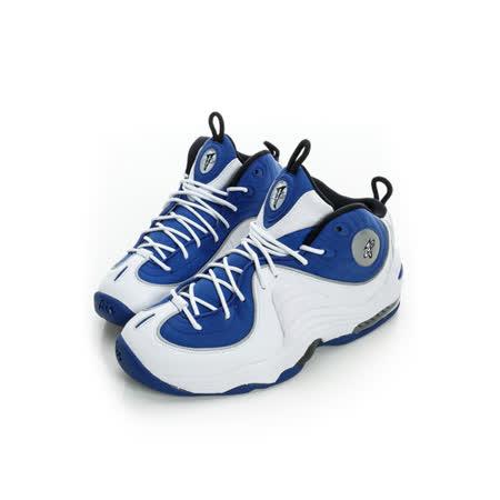 NIKE(男)籃球鞋 藍/白 -333886400
