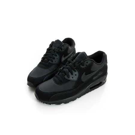 NIKE男 經典復古鞋 黑-537384046