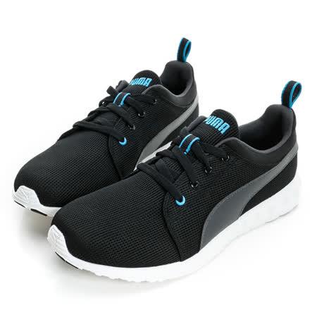 Puma 男 慢跑鞋 黑白 35748212