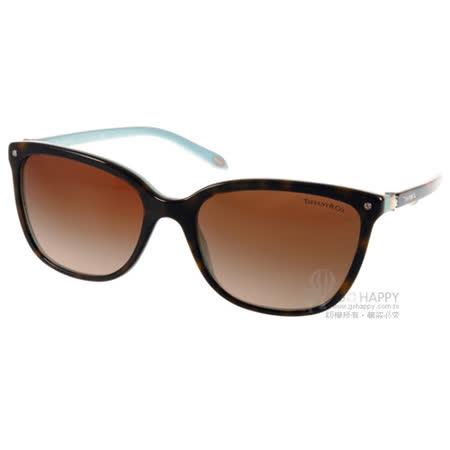 Tiffany&CO.太陽眼鏡 奢華典雅珍珠款(琥珀-蒂芬妮綠) #TF4105HB 81343B
