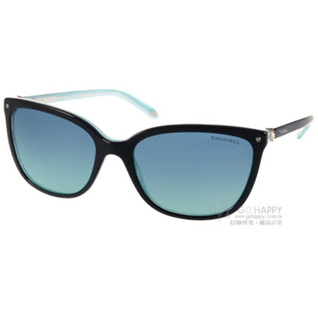 Tiffany&CO.太陽眼鏡 奢華典雅珍珠款(黑) #TF4105HB 81939S