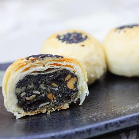 (白鵝山腳普一食品) 黑麻酥(12入)