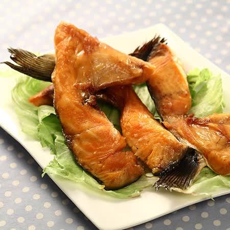 【優食配】燒烤首選鮭魚下巴-500g/包(任選)