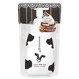 ★買一送一★潤波低脂牛奶清爽沐浴慕絲補充包700ml