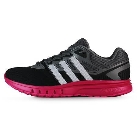 adidas 女 GALAXY 2 W 愛迪達 休閒鞋 灰/黑/紫 - AF5570