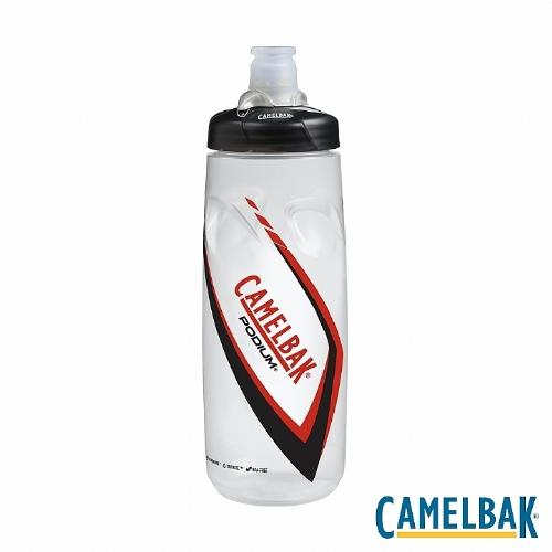 CAMELBAK PODIUM 710ML噴射水瓶BPAFREE^(深紅^)