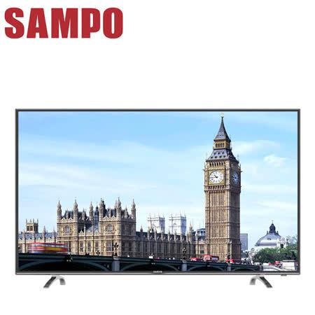 SAMPO聲寶 32吋低藍光LED液晶顯示器+視訊盒(EM-32AT17D)送聲寶小桌扇