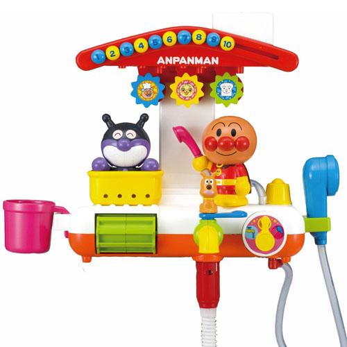 《麵包超人》ANP 蓬蓬頭洗澡玩具