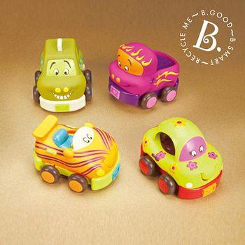 美國 B.Toys 感統玩具 寶寶迴力車 BT68621