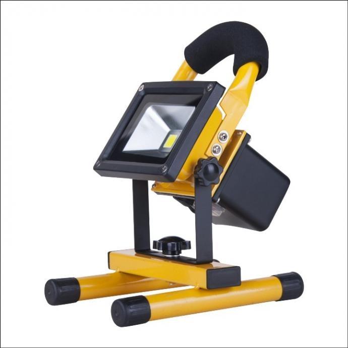 MERCURY 60W充電式LED高亮度投光器 戶外防水 探照燈 露營燈 工作燈
