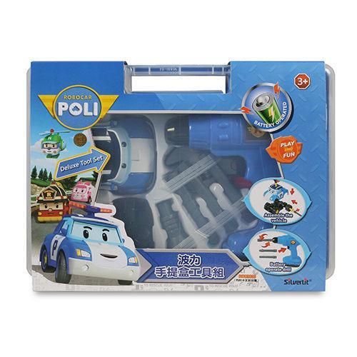 POLI 變形車系列 波力手提盒工具組 RB83030