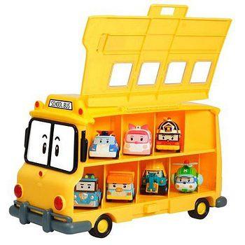 POLI 變形車系列 校車收納盒歡樂組合(內附兩款合金車) RB32325