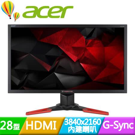 Acer 宏碁 Predator XB281HK 28型4K電競螢幕