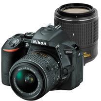 Nikon D5500+18-55mm+55-200mm VR II(中文平輸) - 加送SD64G-C10記憶卡+專屬鋰電池+單眼雙鏡包+強力大吹球+細毛刷+拭鏡布+清潔組+硬保護貼