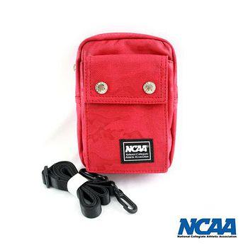 NCAA 迷彩側背/腰掛兩用小包 紅色