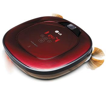 LG雙眼小精靈清潔機器人VR64702LVM紅