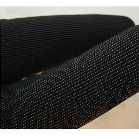 【Stoney.ax】韓版彈力修身打底顯瘦鉛筆褲-細條黑色