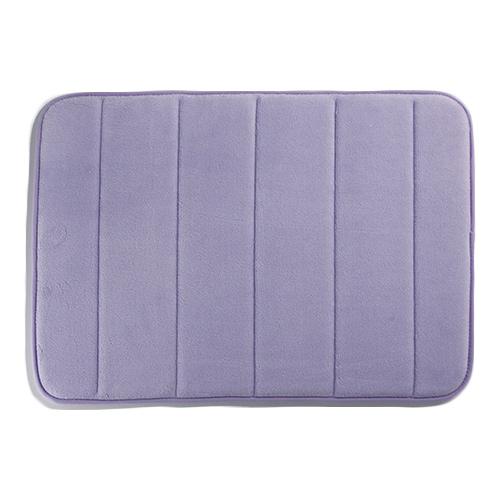 馬卡龍慢回彈 踏墊~粉紫^(45^~60cm^)