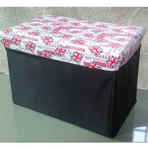 英國米字旗折疊收納椅凳 49~31~31cm