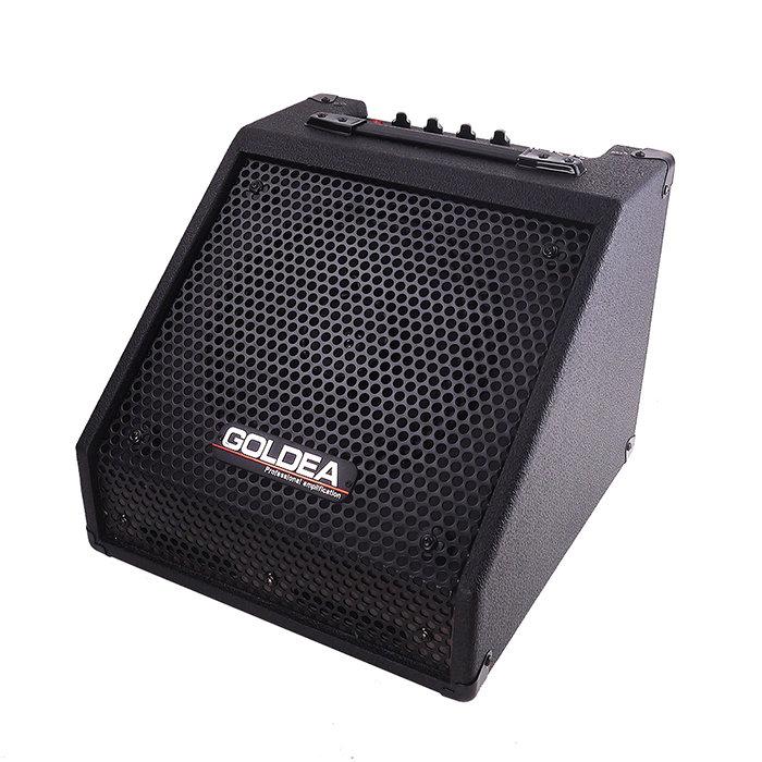 ~GOLDEA~GB~30電子鼓 音箱30W^(高 10吋同軸喇叭^)^~斜角