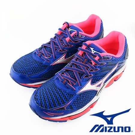 Mizuno WAVE ENIGMA 6 女慢跑鞋 J1GD161103 (紫/橘)
