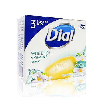 Dial白茶花柔膚皂113g*3入