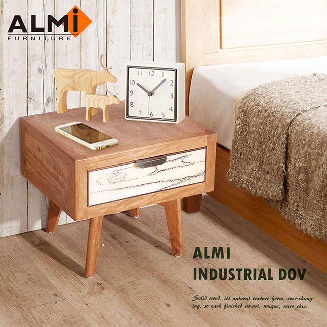 ~ALMI~DOCKER VINTAGE~BEDSIDE 1 DRAWER 床頭櫃