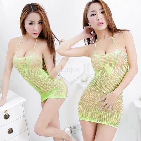 【EnjoyLove】迷網戀情!超性感造型網衣﹝翠綠﹞