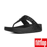 FitFlop™-(女款) BIKER CHIC™-黑色