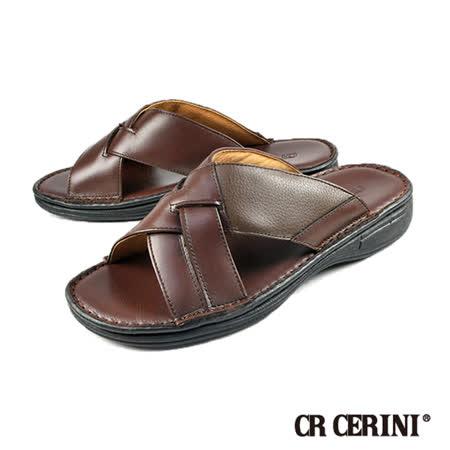 【CR CERINI】輕量核心氣墊拖鞋 咖啡(55213-BR)