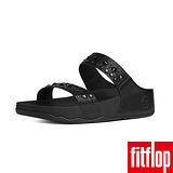 FitFlop™-(女款) BIKER™ CHIC SLIDE-黑色
