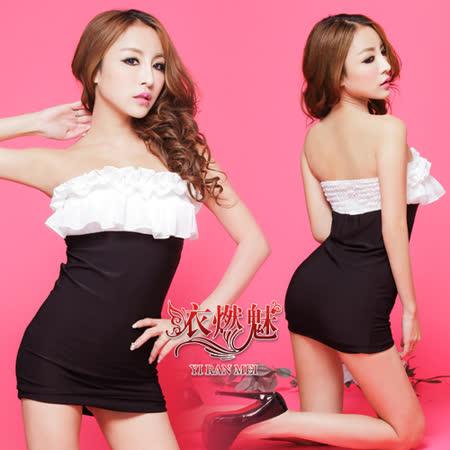 【YIRAN MEI】嫵媚誘惑!露肩蕾絲束身派對裝