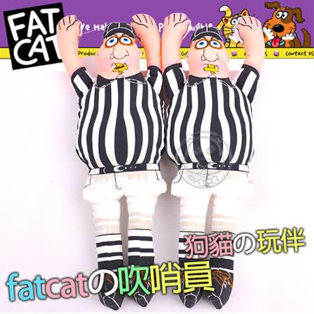 【私心大推】gohappy 線上快樂購美國FATCAT》中大型耐咬發聲玩具吹哨員38cm去哪買遠 百 活動