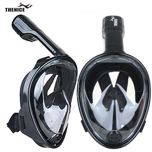 【THENICE遠東 百 】全罩式浮潛呼吸面罩 傑聯總代理公司貨 限量黑色