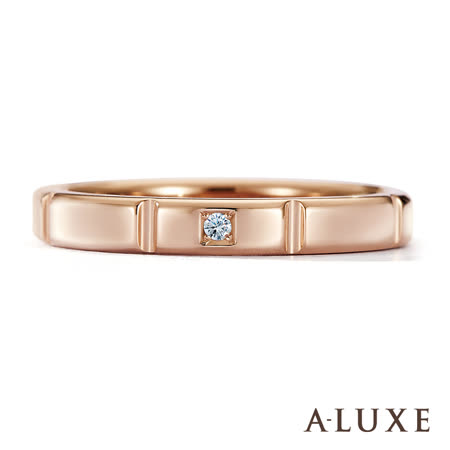 【好物分享】gohappy 線上快樂購A-LUXE-亞立詩鑽石-18K金情侶結婚戒指-女戒價錢igood 愛 買 客