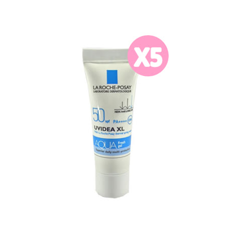 La Roche Posay 理膚寶水 全護水感清透防曬露 UVA PRO 50 (3m*5)