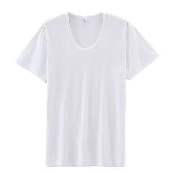 遠東FET 男抗菌短袖U領衫(M~2XL)