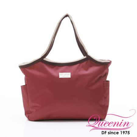 DF Queenin - 韓版百搭輕便式多用途手提包-共4色