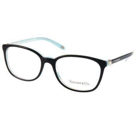 Tiffany&CO.光學眼鏡 頂級優雅珍珠款(黑-流線水藍)  #TF2109HB 8193