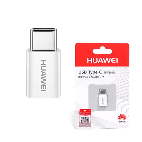 HUAWEI 華為 原廠 Micro USB 轉 Type-C 轉接頭 (吊卡裝)