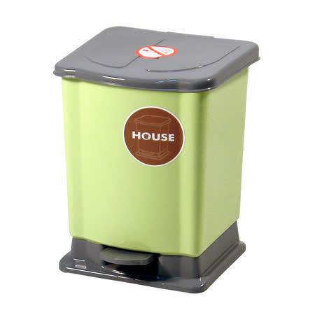 好媽媽踏式垃圾桶-迷你-綠色-(TR63)