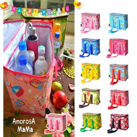【Amorosa Mama】媽咪多用手提式保冷保溫袋/野餐包/保鮮袋